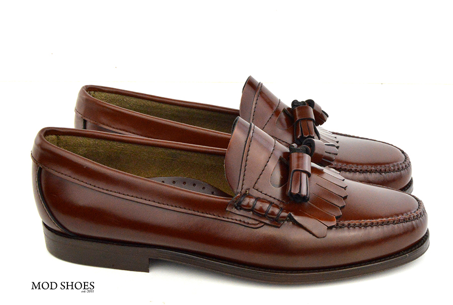 mod shoes brown duke tassel loafer 06