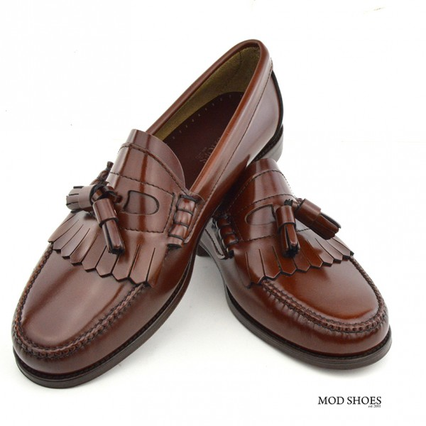 mod shoes brown duke tassel loafer 08