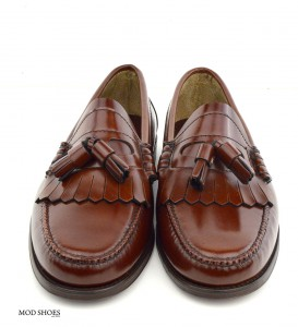 mod shoes brown duke tassel loafer 09