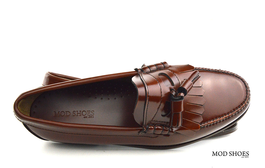 mod shoes brown duke tassel loafer 10