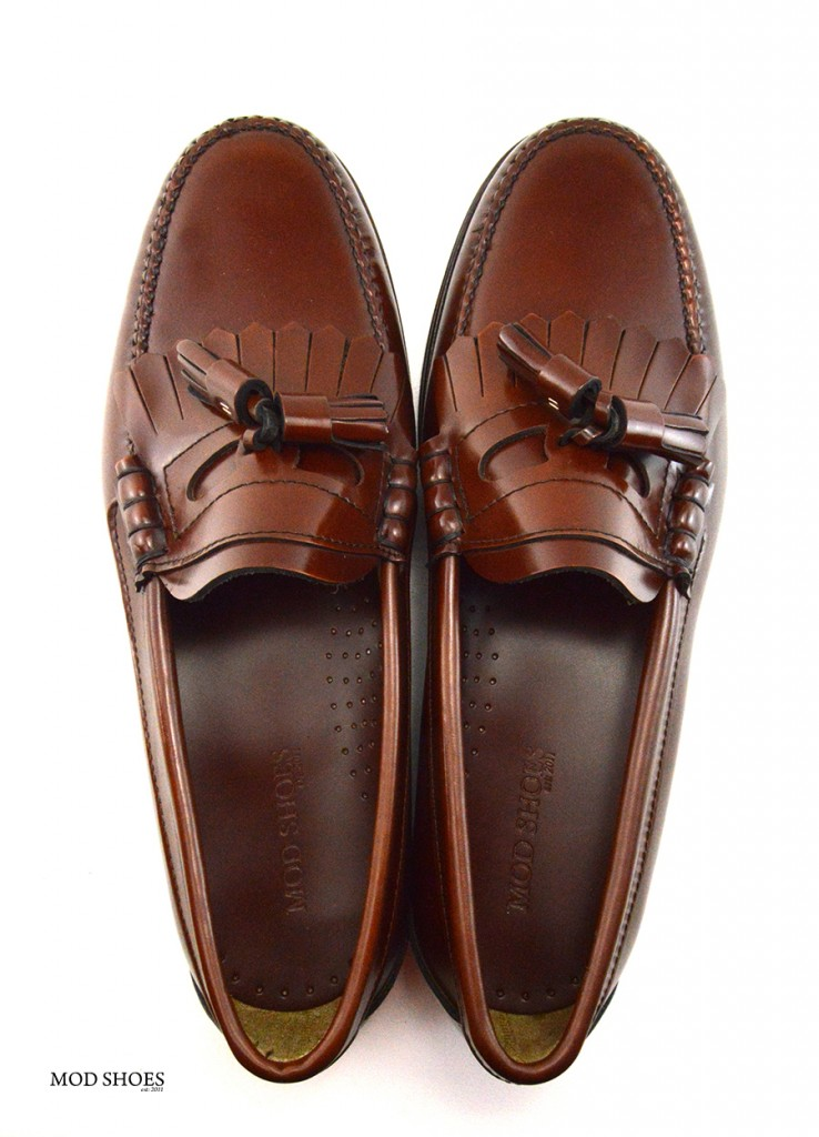 mod shoes brown duke tassel loafer 11