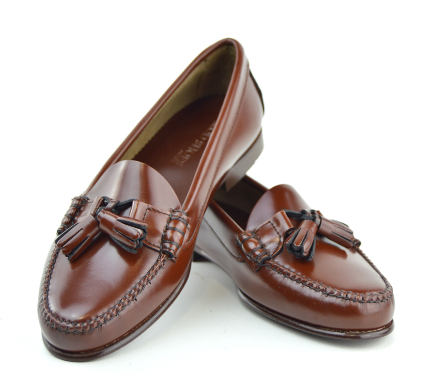 a608ffaa87c4 Ladies Chestnut Tassel Loafer with Leather Sole – The LaBelles – Mod ...