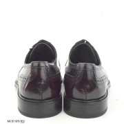 mod shoes oxblood burgundy american style wing tip brogue bridger 07