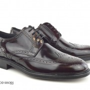 mod shoes oxblood burgundy american style wing tip brogue bridger 09