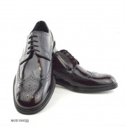 mod shoes oxblood burgundy american style wing tip brogue bridger 10