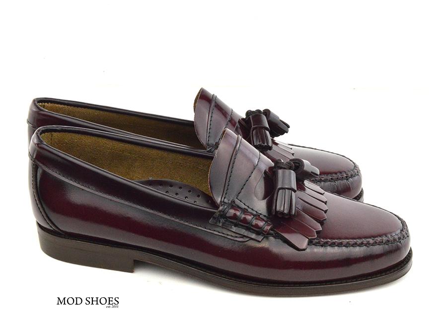 mod shoes oxblood burgundy duke tassel loafer 02