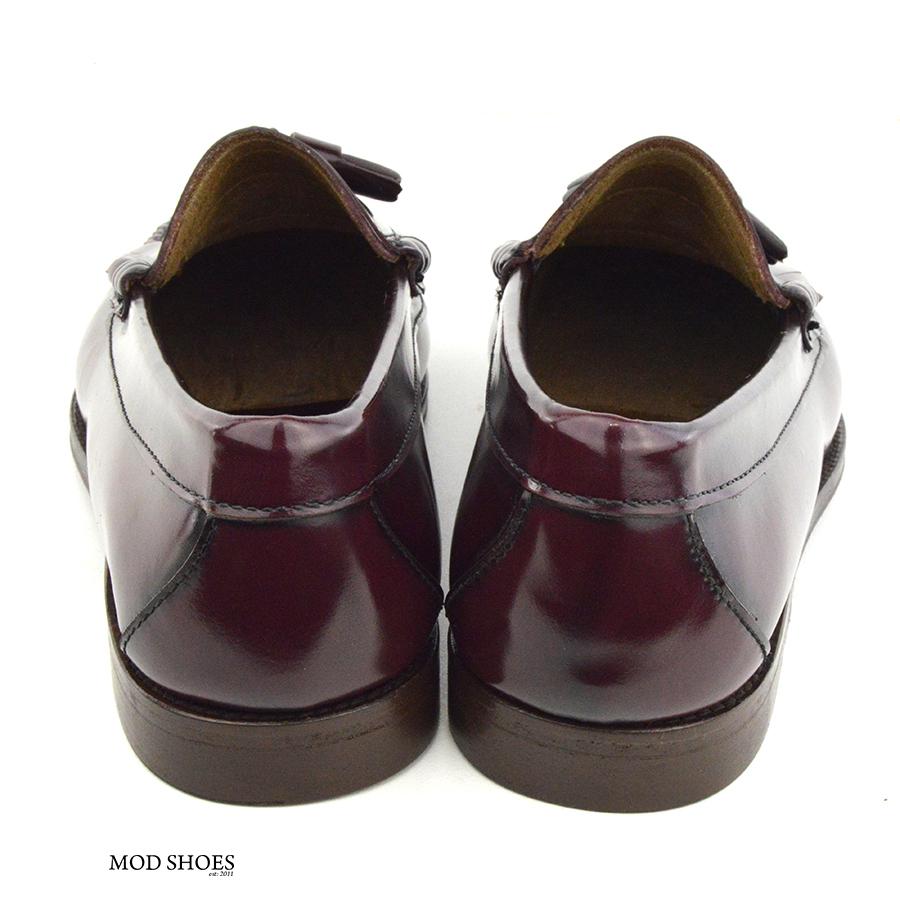 mod shoes oxblood burgundy duke tassel loafer 03