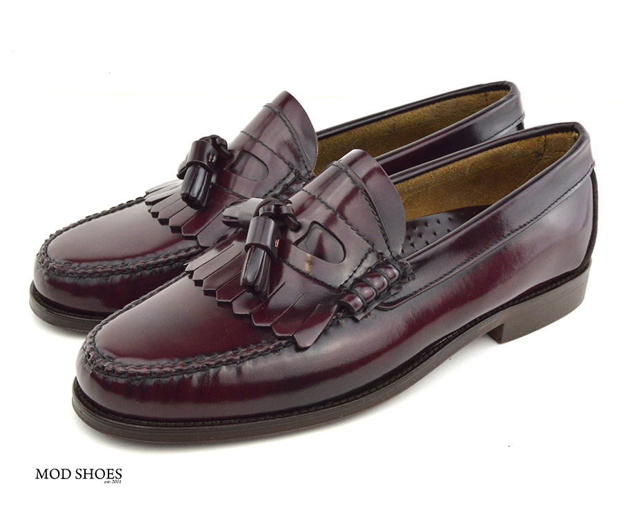 mod shoes oxblood burgundy duke tassel loafer 05