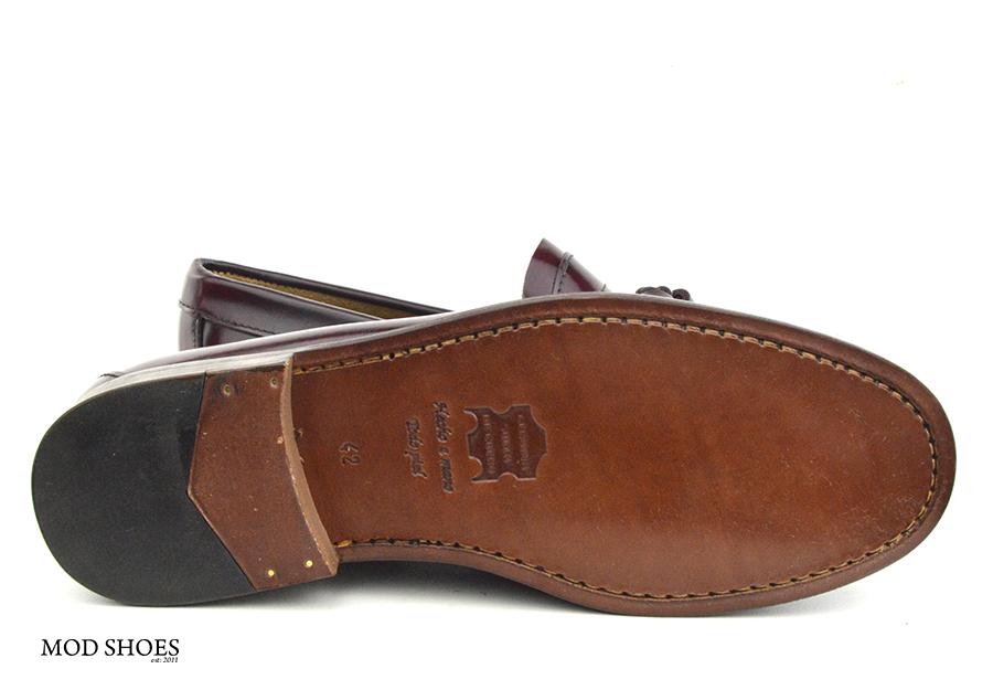 mod shoes oxblood burgundy duke tassel loafer 09