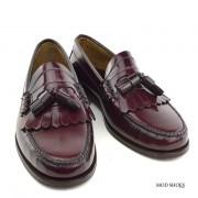 mod shoes oxblood burgundy duke tassel loafer 11