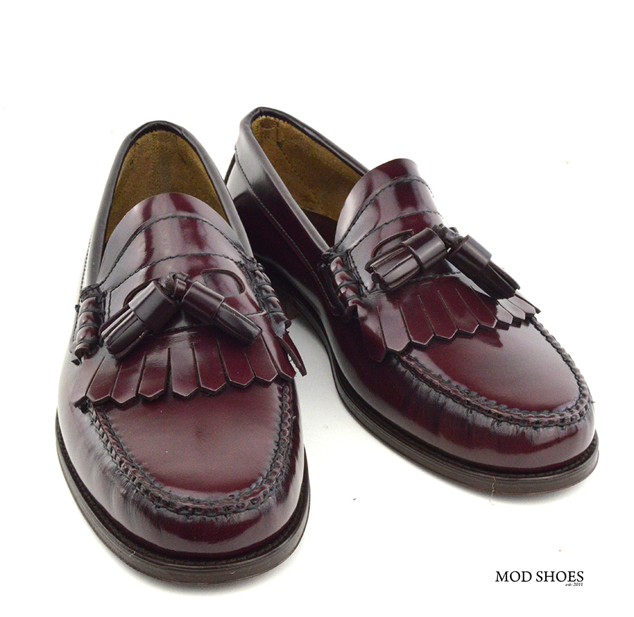 Burgundy Shoes Mens Loafers