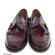 mod shoes oxblood burgundy duke tassel loafer 12