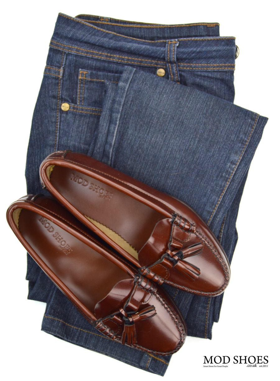 modshoes-labelles-ladies-leather-soled-tassel-loafers-with-jeans