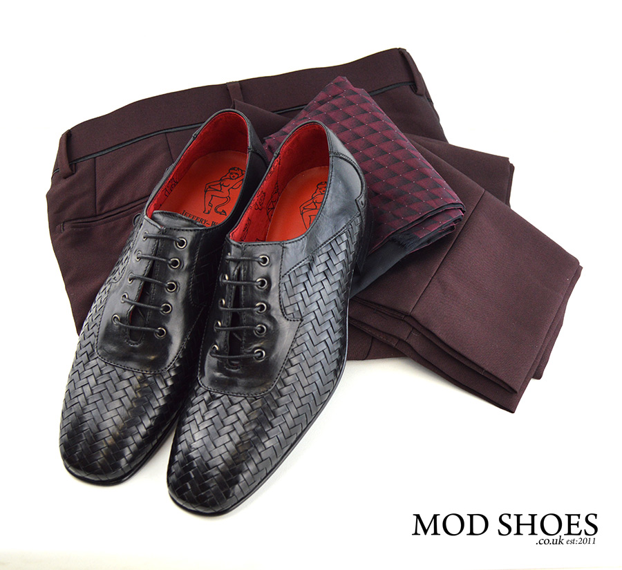 mod-shoes-black-weavers-with-burgundy-trousers