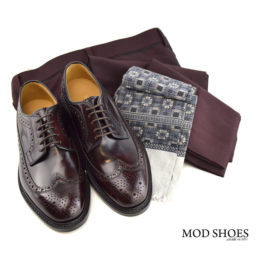 mod-shoes-oxblood-brogues-loake-with-burgundy-trousers
