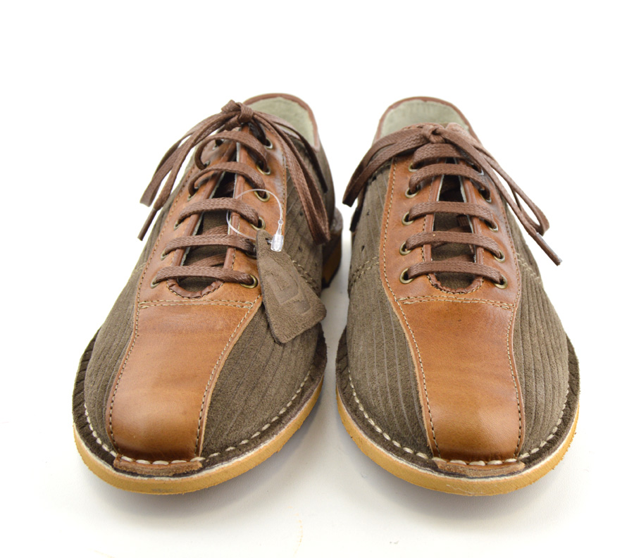 Brown Suede Bowling Shoes