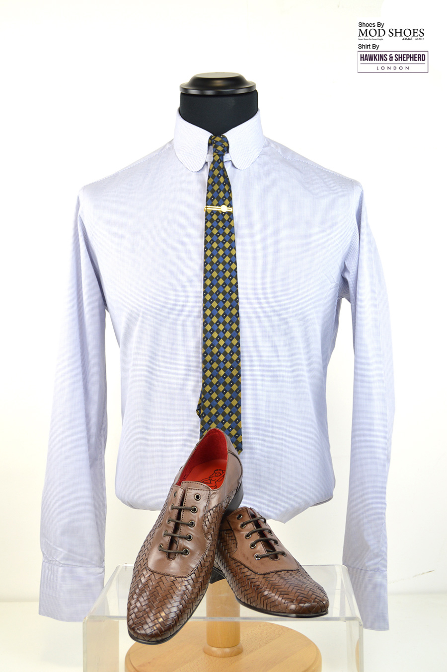 modshoes-jeffery-west-weavers-with-hawkins-sheperds-shirt