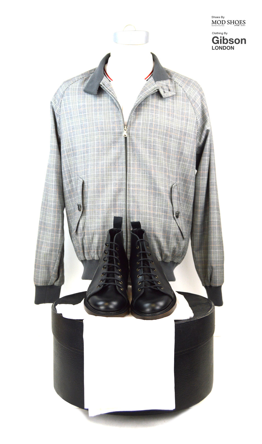 modshoes-black-monkey-boots-with-prince-of-wales-harrington-from-gibson-clothing