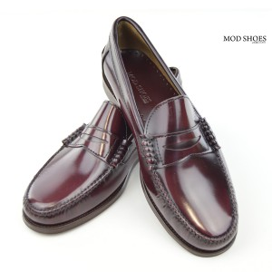 Oxblood Loafers Mod Shoes