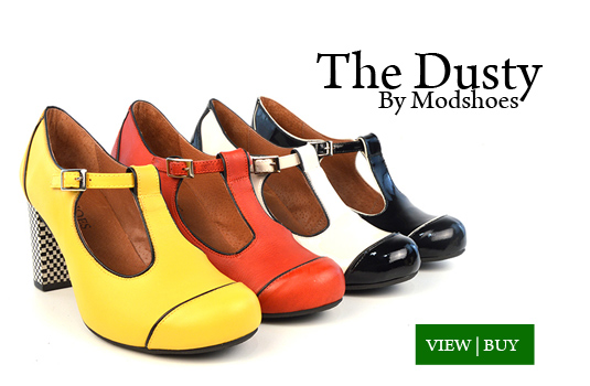 The Dusty - Ladies Retro Shoes