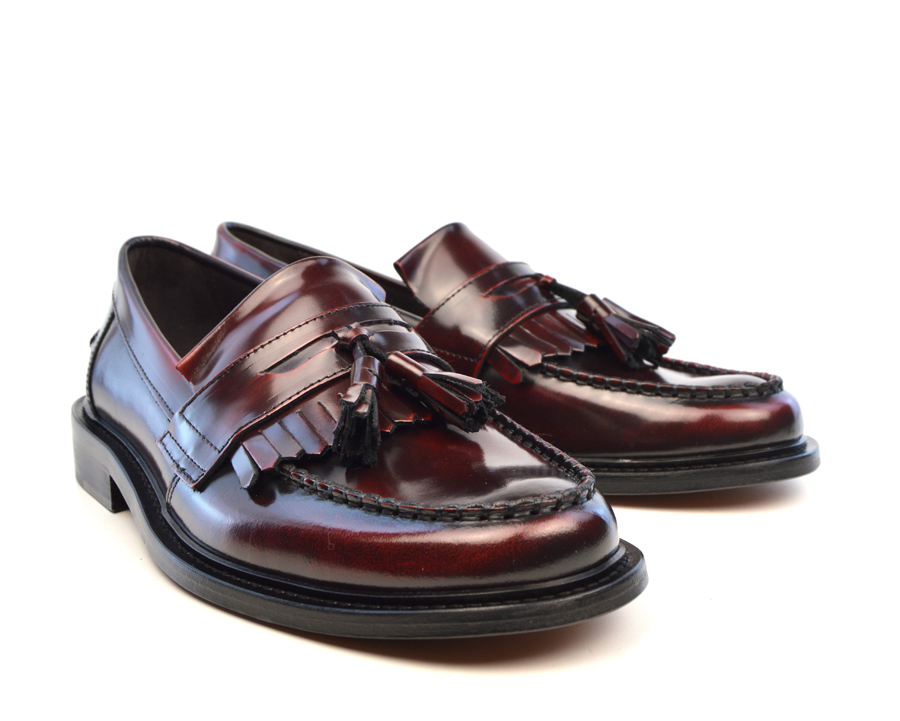 894ca40824549 Oxblood Tassel Loafers - The Prince