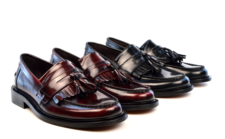 modshoes-The-Prince-Oxblood-and-black-Tassel-Loafers-SKA-MOD-Skinhead-1