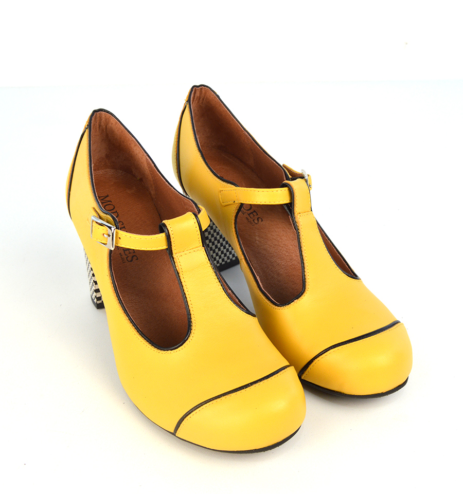 Yellow Heel Shoes Uk