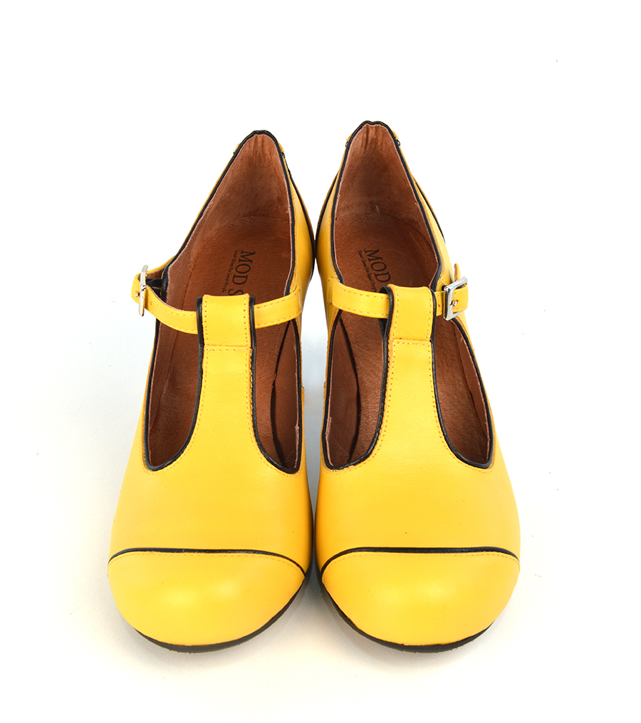 Yellow Ladies Shoes Uk