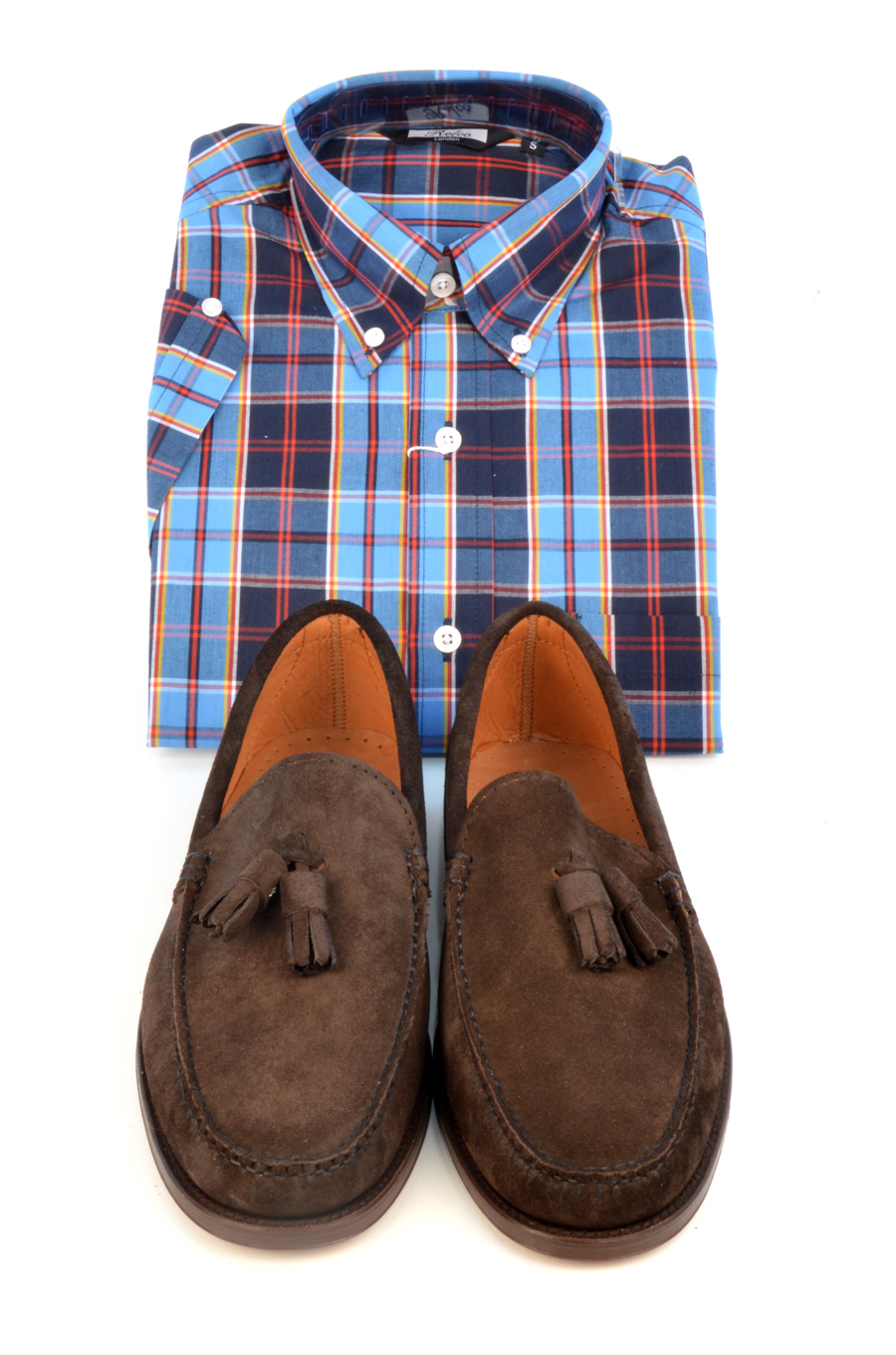 modshoes-lord-suede-loafers-with-check-shirt