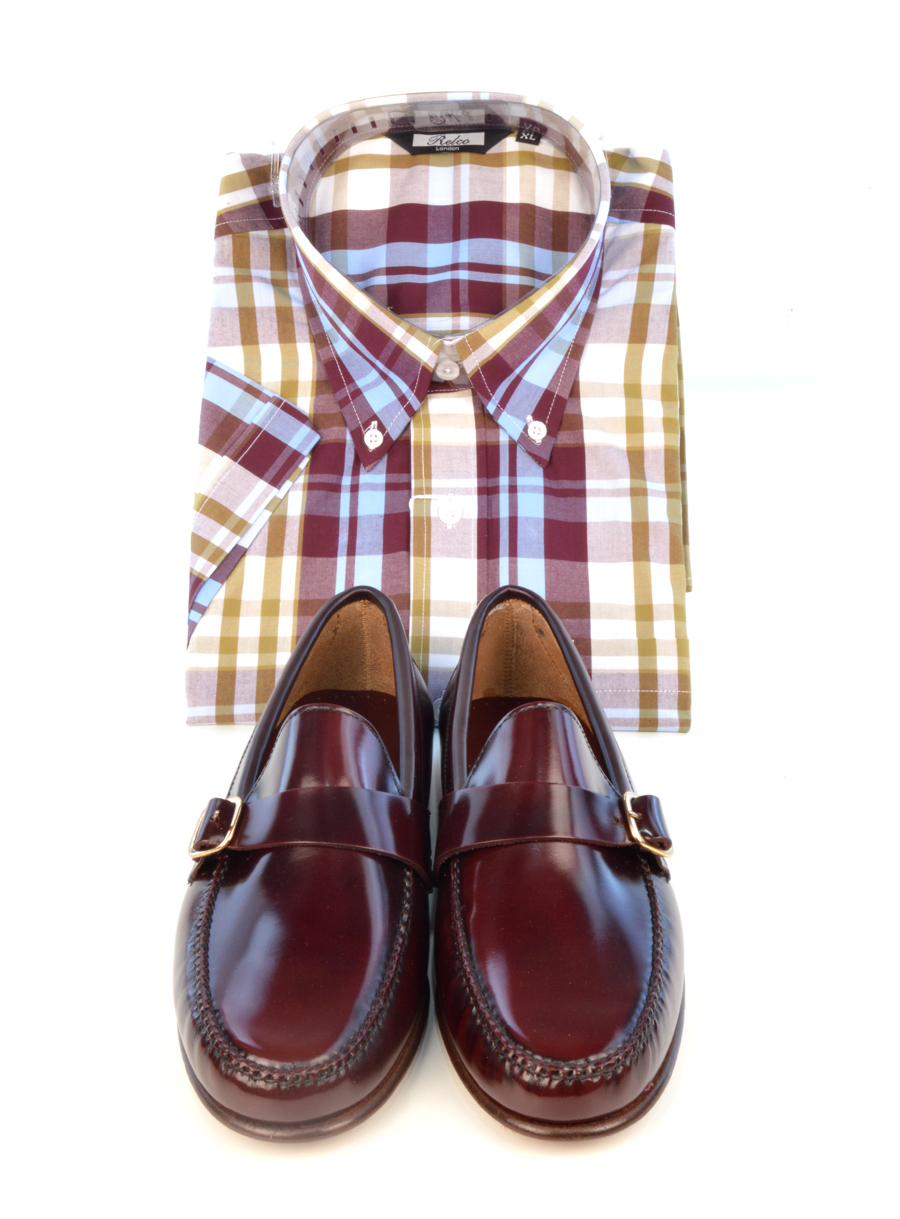 modshoes-oxblood-buckle-shoes-with-check-shirt
