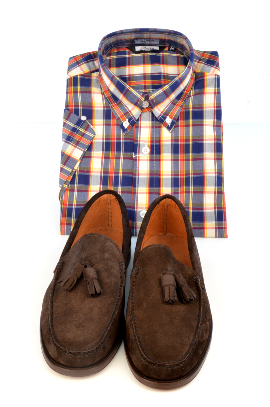 modshoes-suede-loafers-lord-with-check-shirt