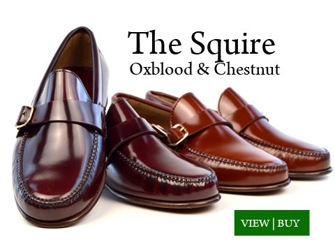 The Squire Loafers in Oxblood & Chestnut