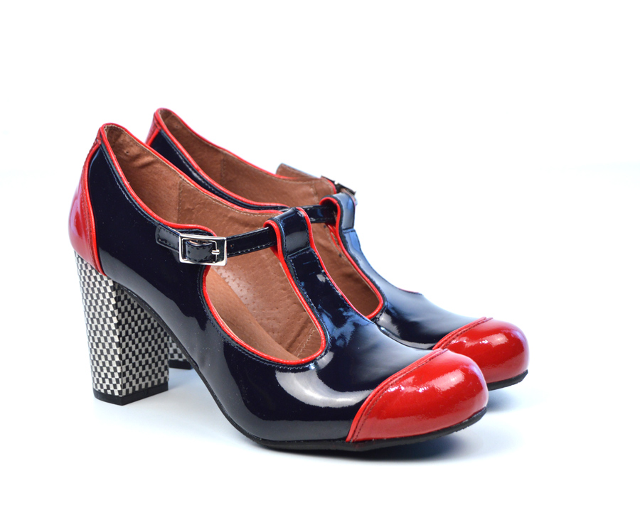 Redpatent Leather Shoes Womens