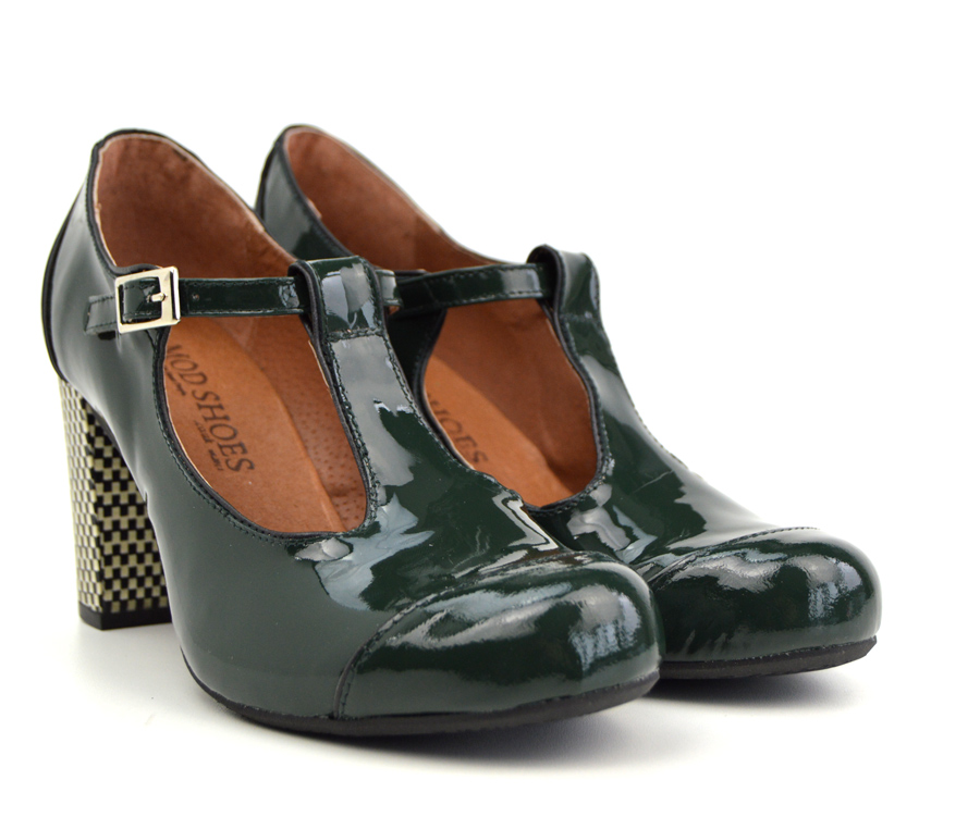 forest green shoes
