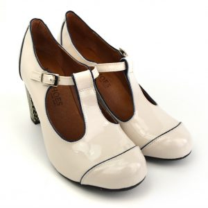369816f94f459e Quick View · Dustys · The Dusty In Cream Patent – Ladies Retro T-Bar Shoe  by Modshoes