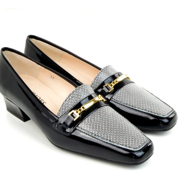 modshoes-The-Jackie-Black-and-Monochrome-Geometric-Pattern-Shoes-04
