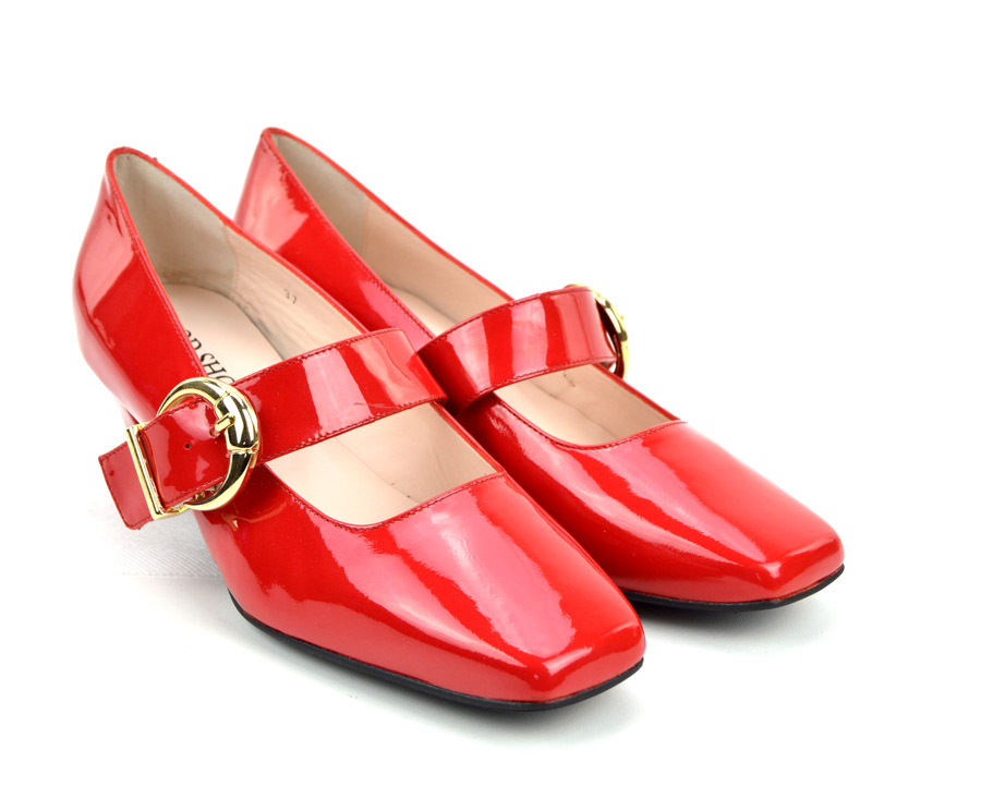 mary jane red shoes
