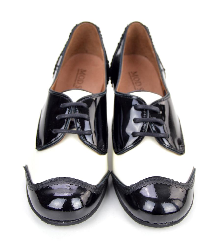 The Sally In Black & White – Ladies Retro Vintage Style ...