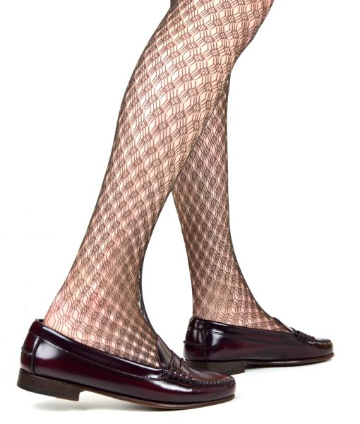 modshoes-ladies-retro-vtinage-style-chocolate-pattern-tights-02