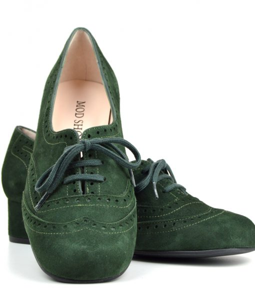 modshoes-the-faye-ladies-brogue-retro-vintage-style-forest-green-suede-03