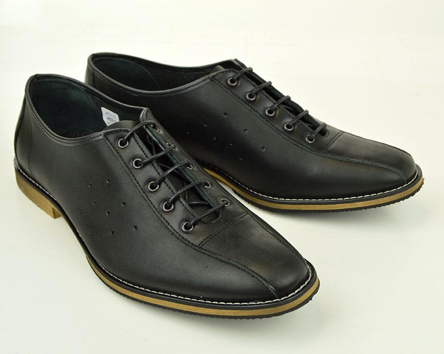 Black Mod Bowling Shoes