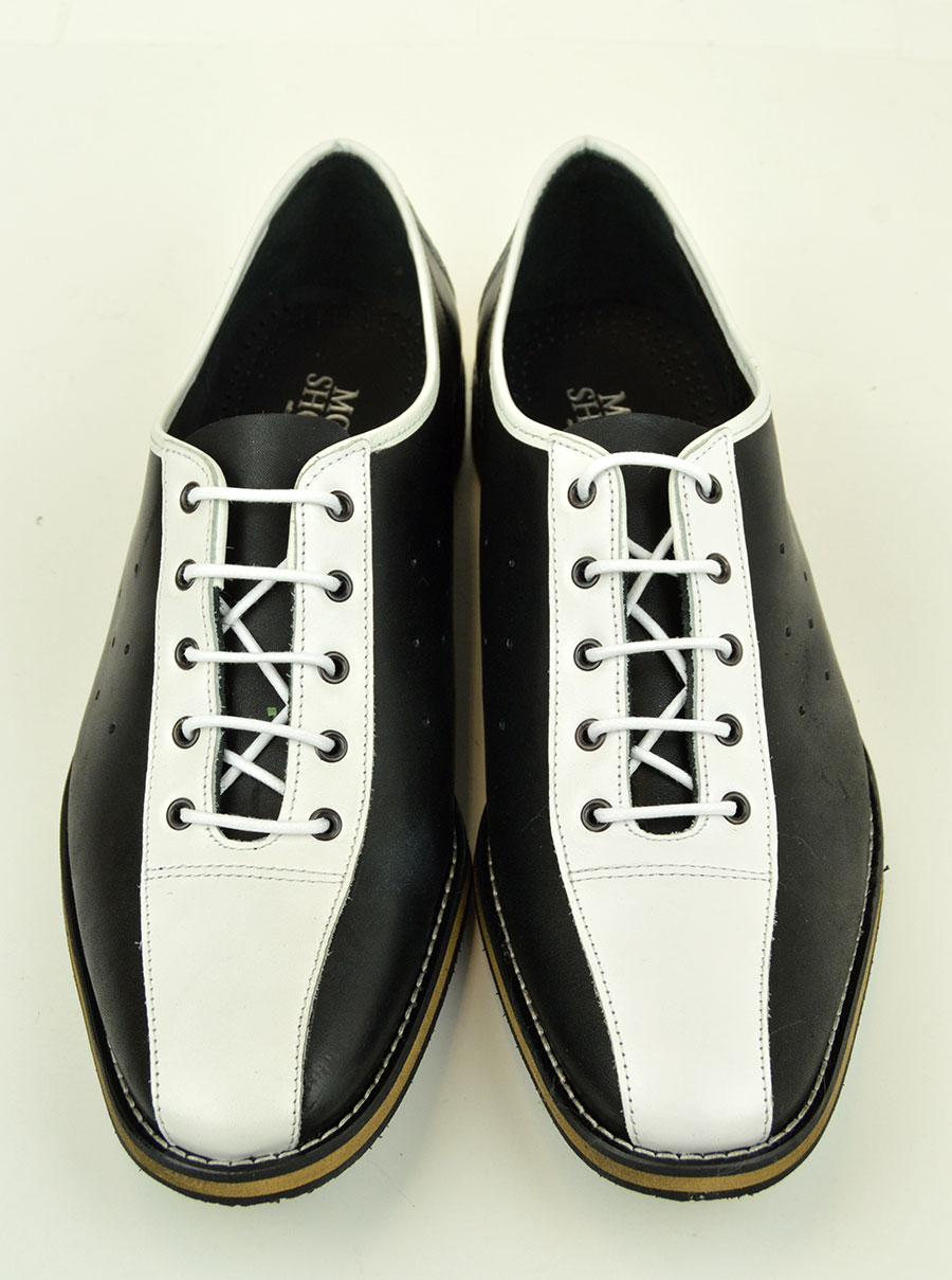 Black Mod Bowling Shoes
