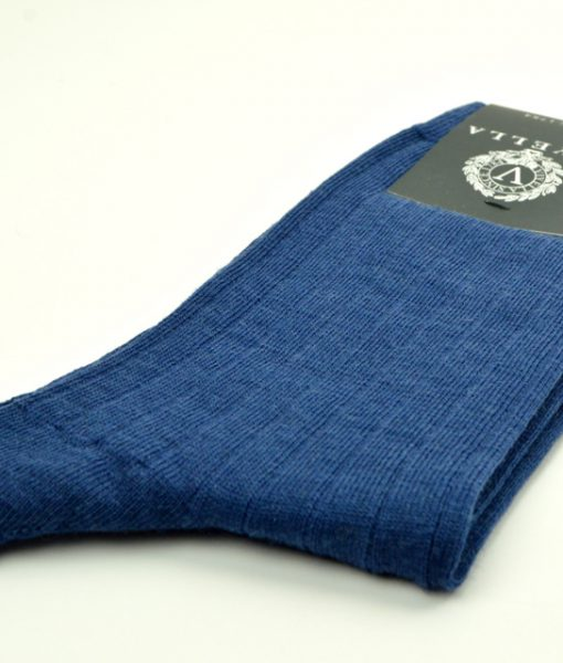 modshoes-air-force-blue-colour-plain-socks-01