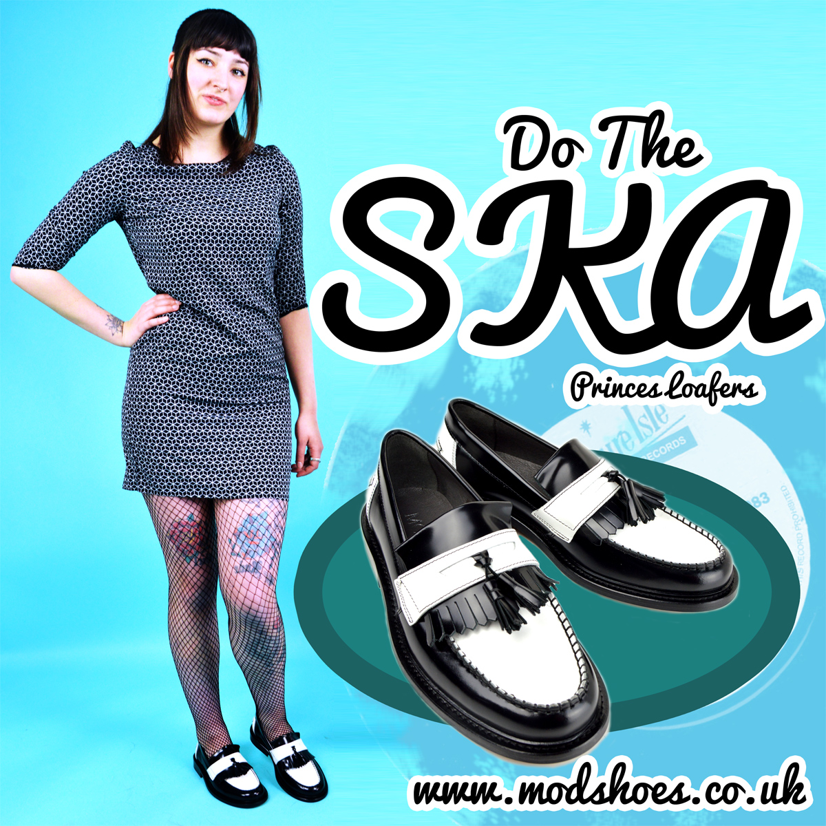 938e72f70a6 Shoes used in the Pictures. Quick View · Black Loafers · Ladies Scorchers – Black  Tassel Loafers – Ska Skinhead 60s-70s Style