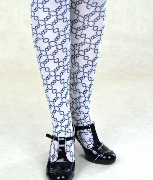 modshoes ladies vintage style retro tights 03