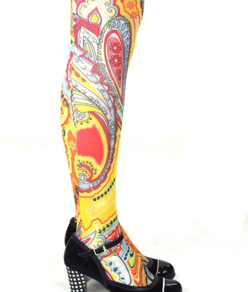 modshoes ladies vintage style retro tights 27