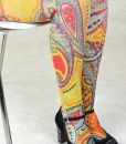modshoes ladies vintage style retro tights 30
