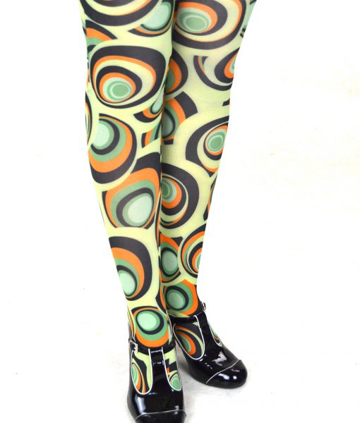 modshoes ladies vintage style retro tights 34