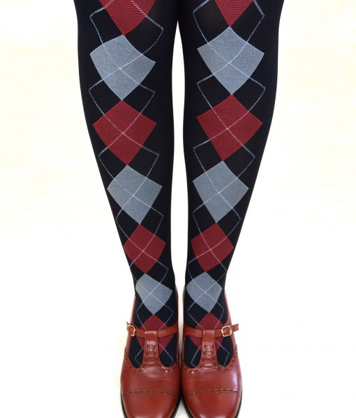 modshoes-ladies-retro-vintage-style-tights-argyle-burgundy-diamond-01
