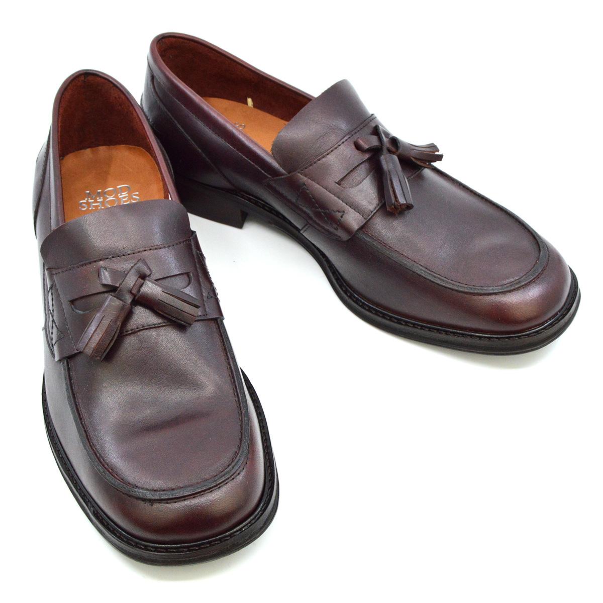 d5a66330a51 Scorchers – Oxblood Tassel Loafers – Ska Skinhead Suedehead 60s-70s ...